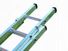 Lyte Industrial Class One Double Section Extension Ladder